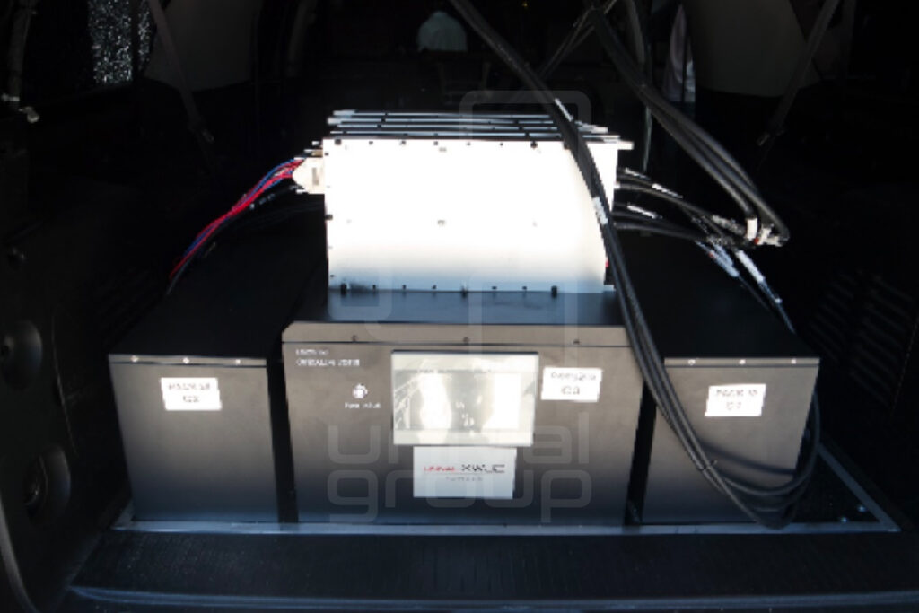 XWJ2 B, 2 x 160 Ah/ 28V battery packs with Power Management
