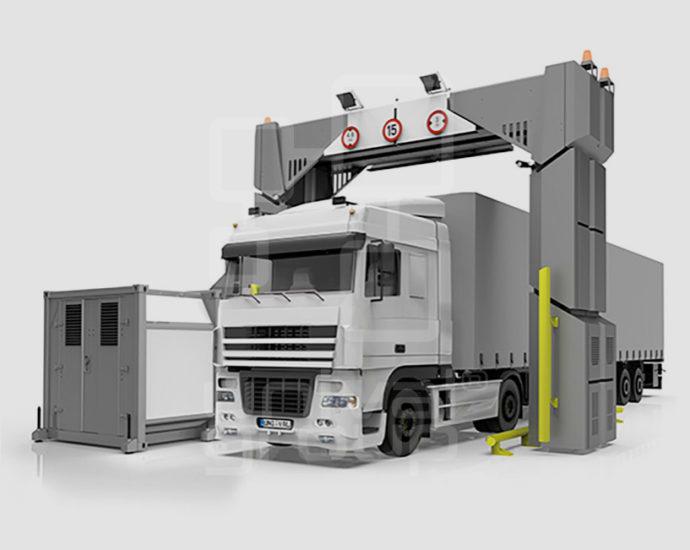 DTP 7500-320LV   TRUCK & CARGO SCANNER