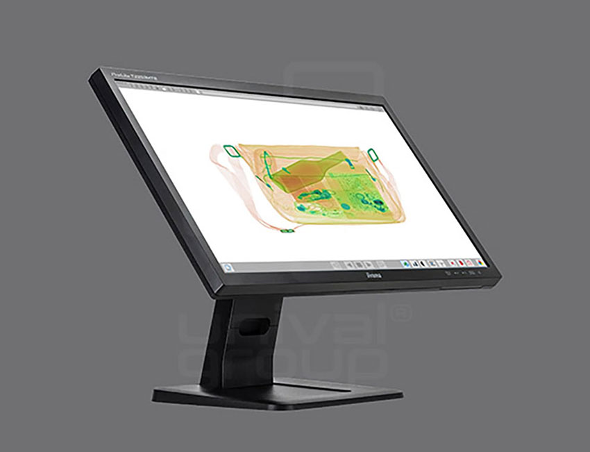 BV 5030   COMPACT BAGGAGE X-RAY SCANNER   TOUCH SCREEN OPERATOR STATION