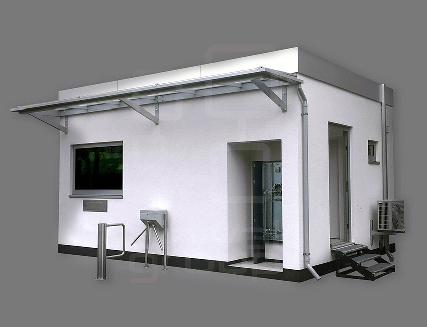 unival BPG | BLAST PROTECTED GUARDHOUSE OR OPERATOR CABIN