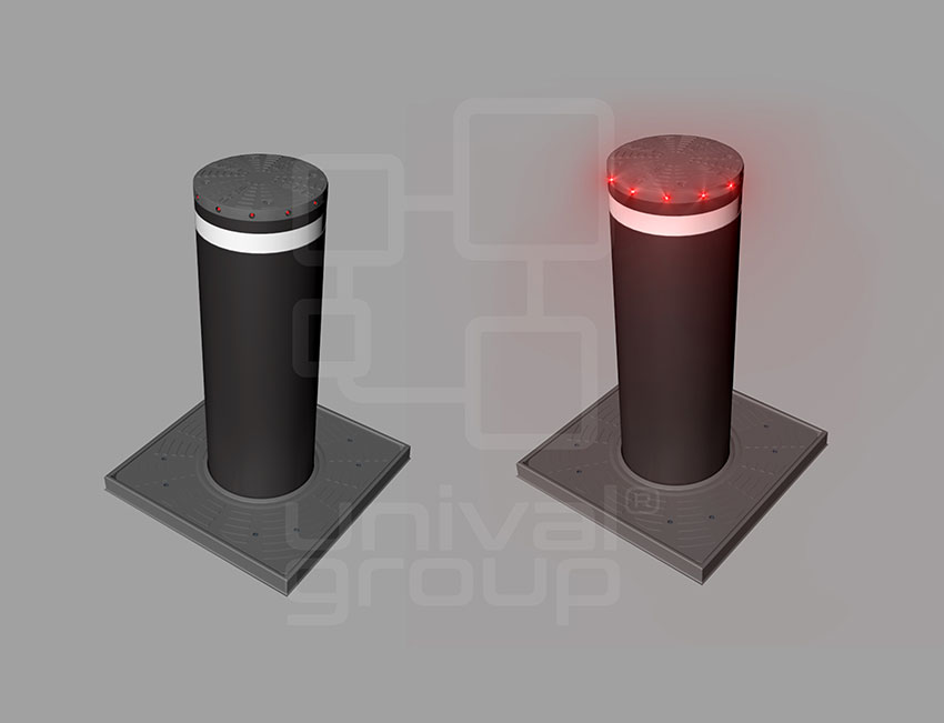 DTP 320DV | DUAL-VIEW OCCUPIED VEHICLE SCANNER | unival HSB | HIGH SECURITY BOLLARDS  (M30 OR M50 RATED)