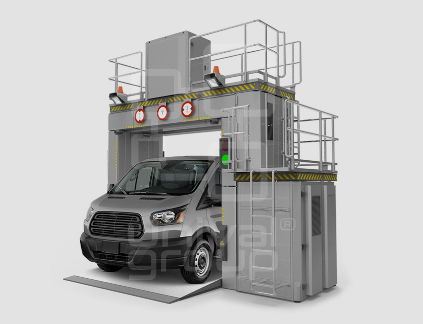 VEHICLE & CARGO SCREENING | DTP 320LV | NEXT-GENERATION OCCUPIED VEHICLE SCANNER
