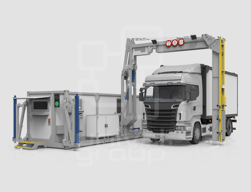 VEHICLE & CARGO SCREENING | DTP 7500LVR | RELOCATABLE CARGO SCANNER