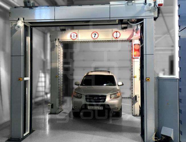 DTP 200LV   X-RAY INSPECTION DRIVE-TRHOUGH PORTAL