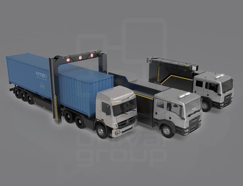 DTP 6000LVM | MOBILE TRUCK & CARGO SCANNER
