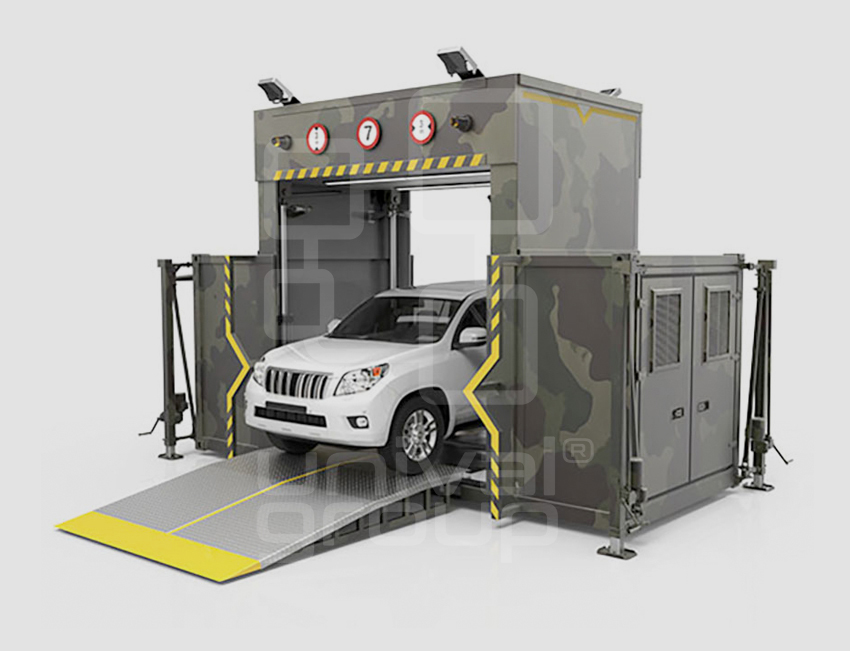 VEHICLE & CARGO SCREENING | DTP 200R | RAPID DEPLOYMENT VEHICLE SCANNER