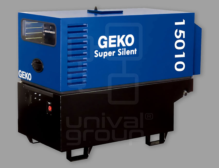 GEKO GENERATOR   FOR POWER SUPPLY OR BACK-UP POWER