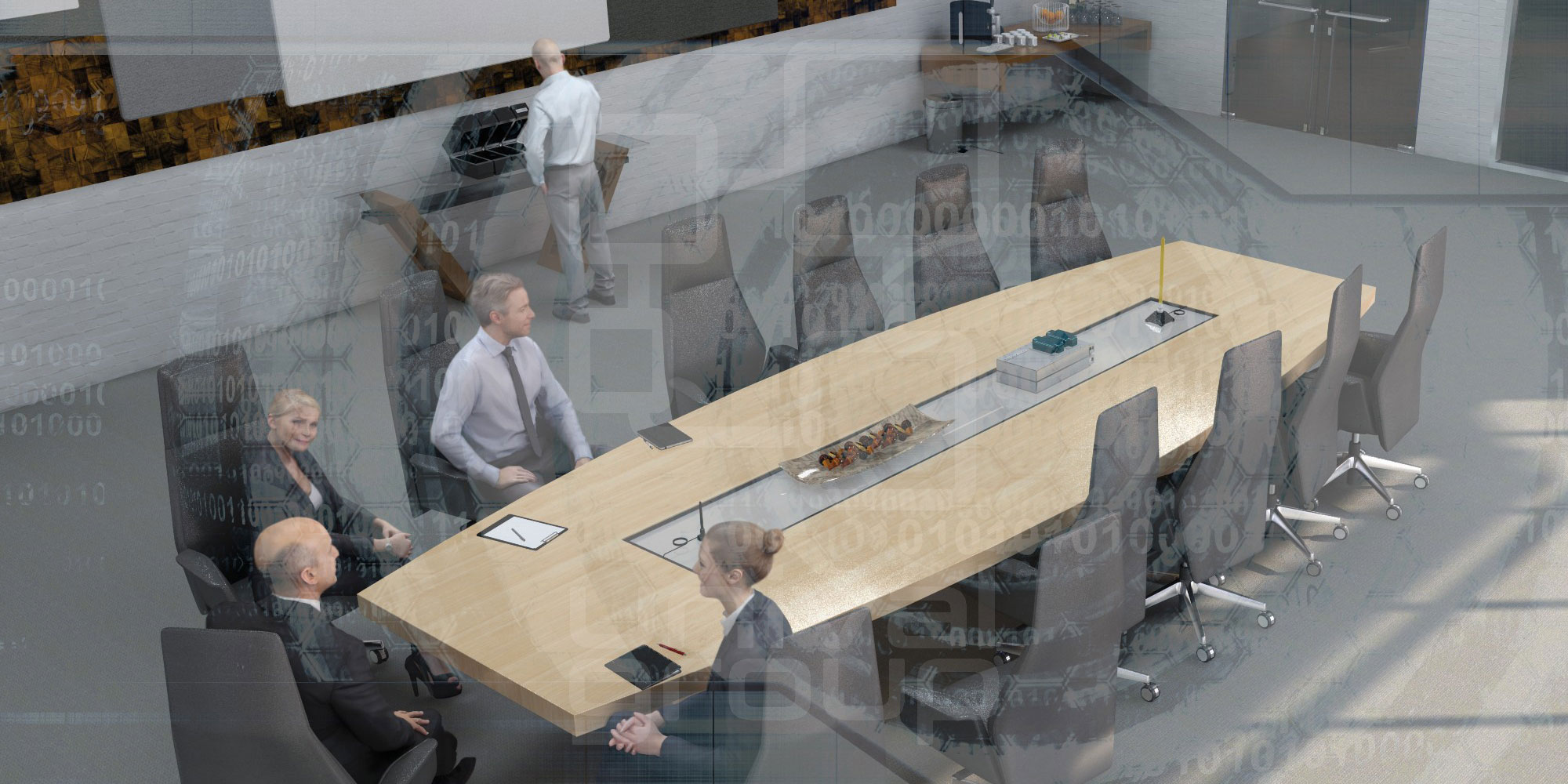 unival group | Shielding the conference room