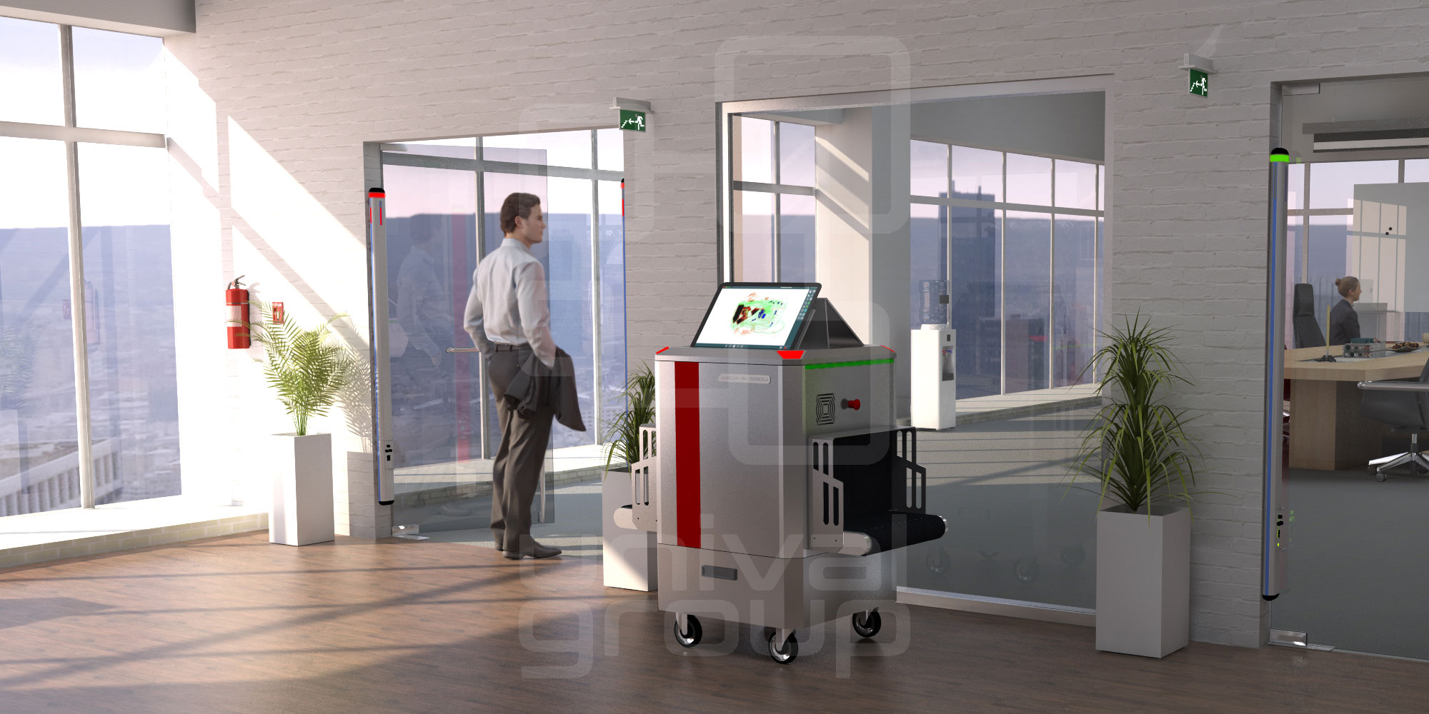 unival group | Access security measures