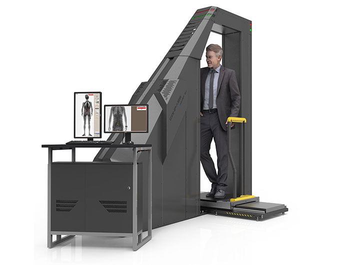 CONPASS SMART DV | DUAL VIEW X-RAY FULL BODY SCANNER