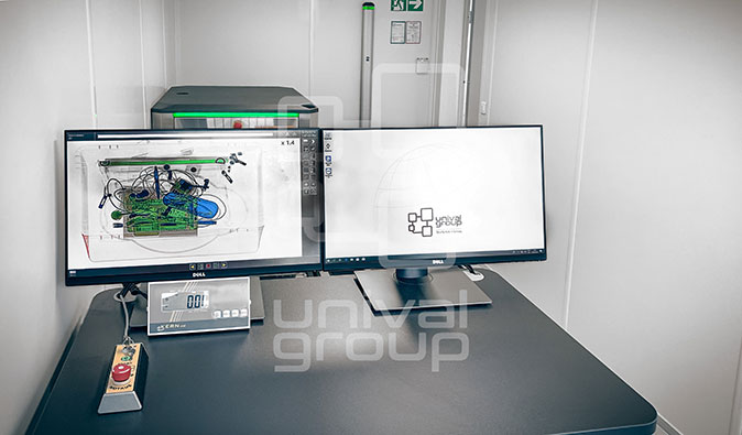 CHECKPOINT CONTAINER - TOUCH SCREEN OPERATION