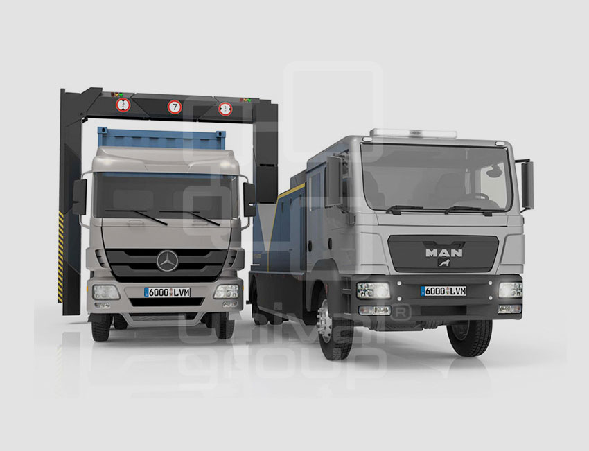 VEHICLE & CARGO SCREENING | DTP 6000LVM | MOBILE TRUCK & CARGO SCANNER