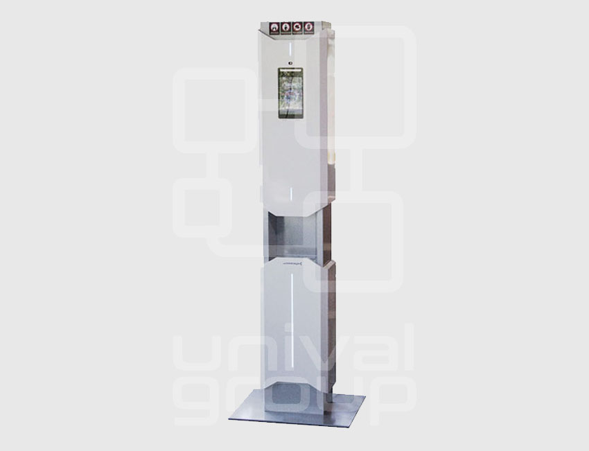 HOLA | FEVER SCREENING STATION WITH DISINFECTION SYSTEM FOR HANDS