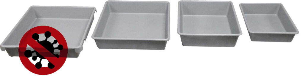 unival ANTI-MICROBIAL TRAYS