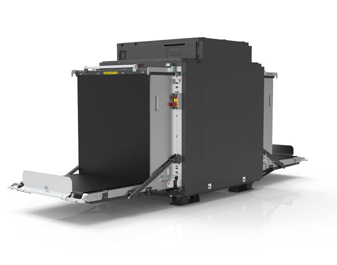 BV 100100DVM | DUAL-VIEW X-RAY SCANNER FOR VANS