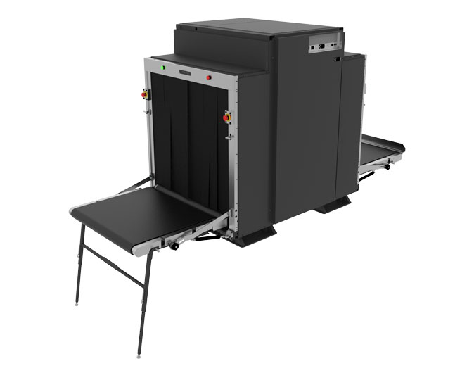 BV 100100M | X-RAY SCANNER FOR VANS