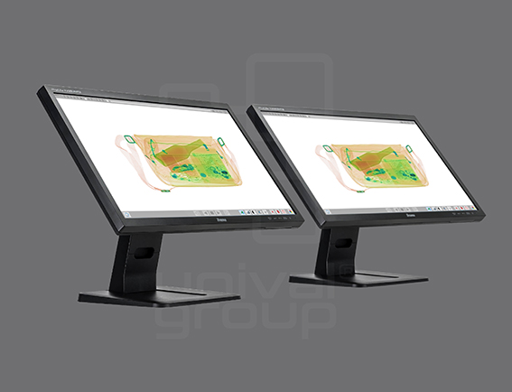 DUAL-VIEW TOUCH SCREEN OPERATOR STATION