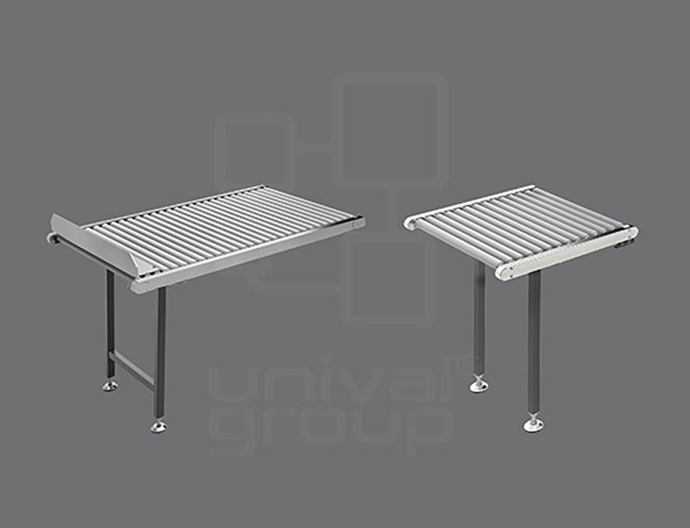 ROLLER TABLES IN DIFFERENT LENGTHS