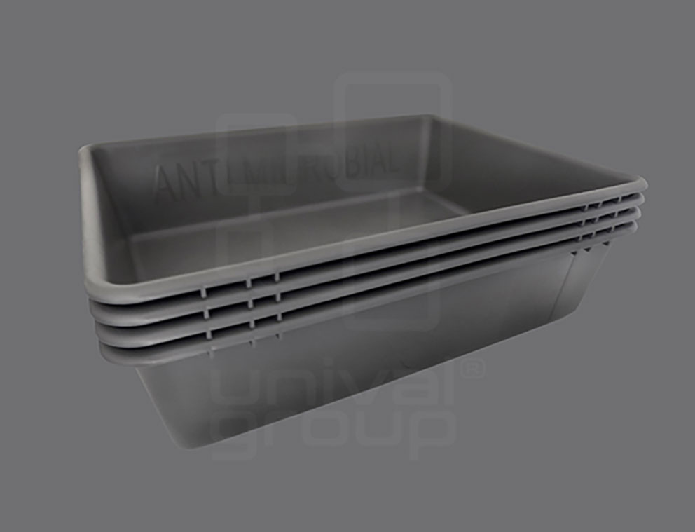 ECAC APPROVED & ANTI-MICROBIAL TRAYS