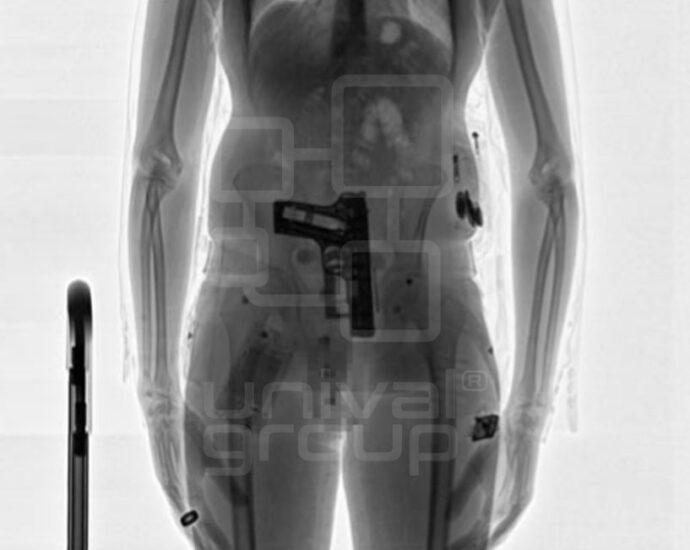 CONPASS SMART | BLACK & WHITE X-RAY IMAGE