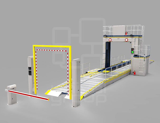 (CONVEYOR VERSION) WITH SPACER, ANPR, AND DRIVER CAM